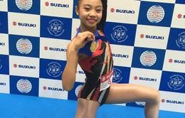 Trần Hà Vi giành HCV Cúp Thể dục aerobic thế giới 2016