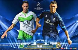 01h45 ngày 7/4, Wolfsburg – Real Madrid: Tiếp đà hưng phấn (Lượt đi tứ kết UEFA Champions League)