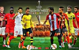 Cập nhật tình hình lực lượng trước vòng tứ kết lượt về Europa League!