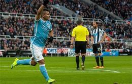 Chia điểm trước Newcastle, Man City gần như tạm biệt giấc mơ vô địch