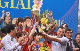 Đánh bại U19 Than KSVN, U19 Phong Phú Hà Nam vô địch giải bóng đá nữ Vô địch U19 Quốc gia 2016