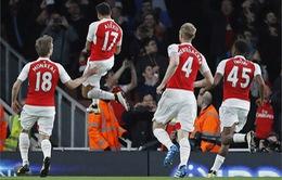 Đánh bại West Brom, Arsenal cán mốc 500 trận thắng tại Ngoại hạng Anh