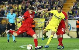 Bán kết Europa League: Liverpool nhận thất bại phút bù giờ