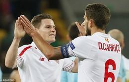 Bán kết Europa League: Sevilla giành lợi thế lớn trước Shakhtar Donetsk