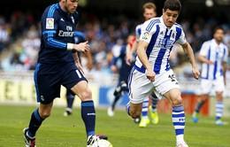 [HIGHLIGHT] Real Sociedad 0-1 Real Madrid: Bale tỏa sáng, Real tạm vượt Barcelona trên BXH