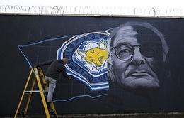 Thành Leicester tưng bừng chuẩn bị ăn mừng chức vô địch