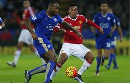 20h05 ngày 1.5, Man Utd vs Leicester City: Lên ngôi tại Nhà hát?