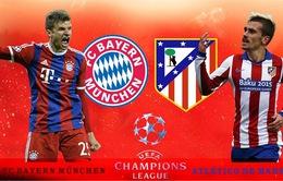 01h45 ngày 4/5, Bayern Munich vs Atletico Madrid: Mệnh lệnh chiến thắng!