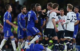 Chelsea, Tottenham và Mousa Dembele gặp rắc rối sau vụ lộn xộn tại Stamford Bridge