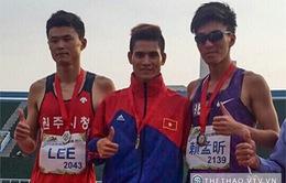 ĐT điền kinh Việt Nam thi đấu thành công tại giải Đài Loan mở rộng