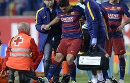Luis Suarez chấn thương, ĐT Uruguay lo mất trụ cột