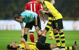 ĐT Đức: Hummels chấn thương không nghiêm trọng, vẫn có thể dự EURO