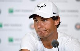 BẤT NGỜ: Nadal chia tay giải Pháp mở rộng 2016