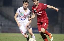 Phong Phú Hà Nam vô địch lượt đi giải bóng đá nữ VĐQG - Cúp Thái Sơn Bắc 2016