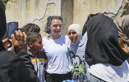 Dàn sao 'Trò chơi vương quyền' thâm nhập trại tị nạn người Syria