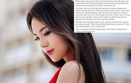 Hoa hậu Kỳ Duyên ủy quyền luật sư giải quyết vụ việc bị xuyên tạc mua giải