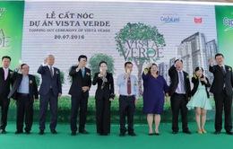 Cất Nóc dự án Vista Verde
