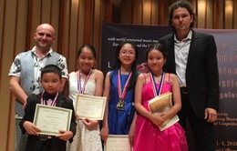 Việt Nam giành nhiều giải xuất sắc tại hai cuộc thi piano quốc tế ở Hoa Kỳ