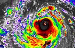 Xuất hiện siêu bão Meranti tiến vào Biển Đông
