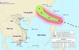 Siêu bão Meranti gây gió giật trên cấp 17 ở Biển Đông