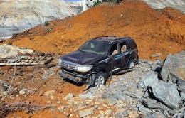 Chùm ảnh: Tìm kiếm các nạn nhân nghi còn mất tích sau sự cố thủy điện Sông Bung 2