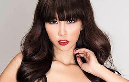 Siêu mẫu Hà Anh ngồi 'ghế nóng' Miss Global 2016 cùng Manny Pacquiao