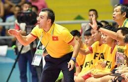 Cầu thủ luyến tiếc khi HLV Bru-nô chia tay đội tuyển futsal