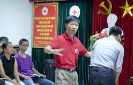 Hội Chữ thập đỏ TP. Hà Nội: Tập huấn sơ cấp cứu miễn phí khóa I/2016