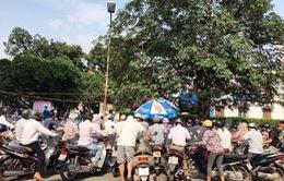 Lùi thời điểm đóng cửa bãi trông giữ xe tại Bệnh viện Bạch Mai