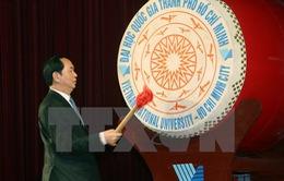Chủ tịch nước Trần Đại Quang dự Lễ Khai khóa - 2016 Đại học Quốc gia TP.Hồ Chí Minh