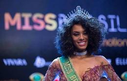 """Dân mạng khen ngợi nhan sắc """"Tân Hoa hậu Hoàn vũ Brazil"""""""