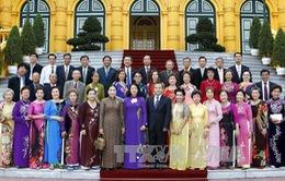 Phó Chủ tịch nước Đặng Thị Ngọc Thịnh tiếp đoàn cựu giáo viên kiều bào