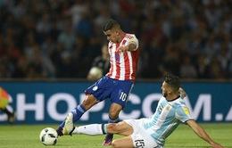 Argentina bất ngờ thua Paraguay, Anh hòa Slovenia