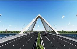 Phương án Nón Huế đoạt giải nhất cuộc thi kiến trúc công trình Cầu vượt sông Hương