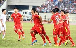 U19 Việt Nam đánh bại CHDCND Triều Tiên ở giải U19 châu Á