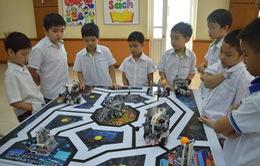 """Hơn 500 """"kỹ sư robot"""" nhí tham gia ngày hội Robothon"""