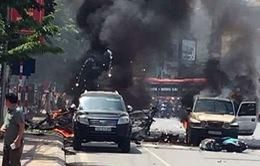 Sốc mạnh: Vụ nổ taxi ở Quảng Ninh do đối tượng nghiện ma túy tự sát bằng mìn tự tạo?