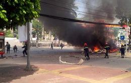 Vụ nổ taxi tự sát bằng mìn tự chế: Tiết lộ lá thư tuyệt mệnh