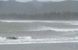 Bão Aere đang tiến vào biển Đông sức gió mạnh cấp 9, giật cấp 11