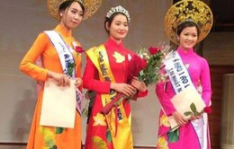 Nguyễn Thị Hồng Gấm lọt Top 3 Hoa hậu Áo dài Việt Nam tại Nhật