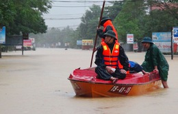 Cảnh báo ngập lụt tiếp diễn ở Hà Tĩnh, Quảng Bình