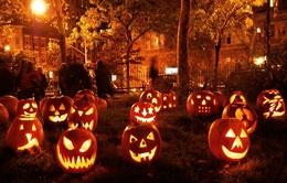 Đồ chơi Halloween: Bí ngô cũng có thể làm bằng lọ thủy tinh