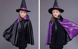 Đồ chơi Halloween: Làm áo choàng phù thủy dễ không tưởng cho bé yêu