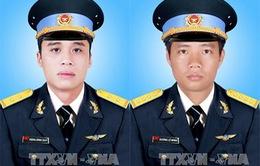 Vụ máy bay rơi: Truy thăng quân hàm các sĩ quan hy sinh