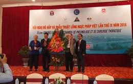 Hội nghị hô hấp và phẫu thuật lồng ngực Pháp - Việt lần thứ XI