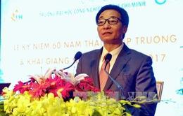 Phó Thủ tướng Vũ Đức Đam dự lễ kỷ niệm 60 năm thành lập trường Đại học Công nghiệp Thành phố Hồ Chí Minh