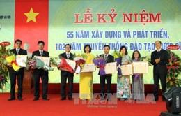 Trường Đại học Dược Hà Nội kỷ niệm 55 năm thành lập