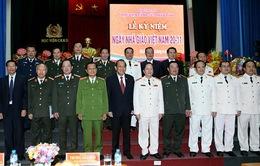 Phó Thủ tướng Trương Hòa Bình thăm Học viện Cảnh sát nhân dân
