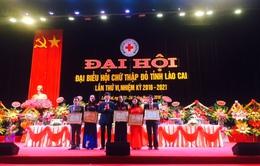 Lào Cai: Đại hội Hội Chữ thập đỏ tỉnh lần thứ VI, nhiệm kỳ 2016 – 2021