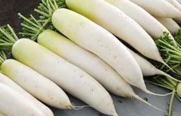 Chớ dại ăn củ cải 'nhân sâm trắng mùa đông' với những loại này